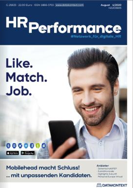 Titelstory über Mobilehead in der HR Performance